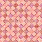 縞模様の正方形からチェック シームレスなベクトルパターン設計