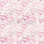 Tenderness Of Love Seamless Pattern