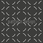 Cercle avec lacunes Motif Vectoriel Sans Couture
