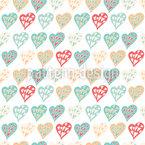Happy Heart Pattern Design