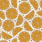Geschnittene Orangen Designmuster