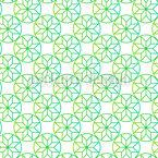 Fresh Stars Seamless Vector Pattern Design