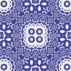 Tuile portugaise embellishmed Motif Vectoriel Sans Couture