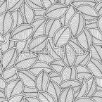 Treffen Der Blätter Nahtloses Vektormuster