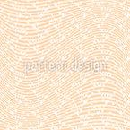 Wavy Hearts Vector Pattern
