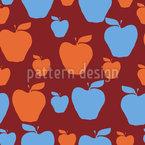 ビッグ・アップル シームレスなベクトルパターン設計