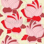 Lotusblüten Muster Design