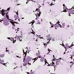 Abstrakte Kirschblüten Nahtloses Vektormuster