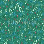 お祝いの花 シームレスなベクトルパターン設計