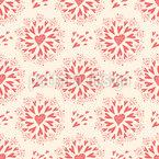 Swirling Hearts Design Pattern