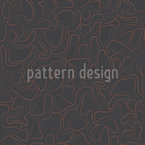 Fascinating Muddle Seamless Vector Pattern Design