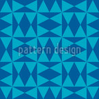 Diamonds And Triangles Design Pattern