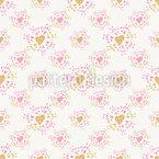 Soft Shining Of Love Seamless Pattern