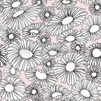 Daisy Dream Seamless Vector Pattern Design