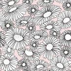 Gänseblümchen Traum Vektor Muster
