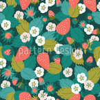 Berry Glade Estampado Vectorial Sin Costura