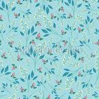 Paradiesische Blumenparty Nahtloses Muster