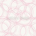 Schönes Linienchaos Nahtloses Vektormuster