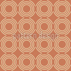Earthy Circles Vector Pattern