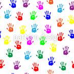 Kinder Handabdrücke Designmuster