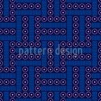 Labirinto Design de padrão vetorial sem costura