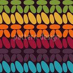 Single Crochet Stitches Seamless Pattern