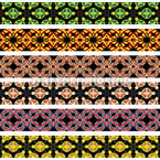 Bordura Motif Vectoriel Sans Couture