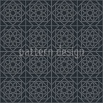 Vietnamese Lattice Seamless Vector Pattern