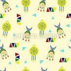 Nubian Drawings Design Pattern