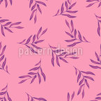 Exotic Tropical Leaves Repeat Pattern