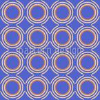 Kreisendes Retro Nahtloses Muster
