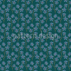 Cornflowers Seamless Vector Pattern Design