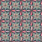 Geometrische Stimmung Nahtloses Vektormuster