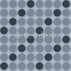 Listras circulares Design de padrão vetorial sem costura