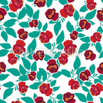 Snapdragons Seamless Vector Pattern Design