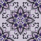 Eight Petals Orient Seamless Vector Pattern Design