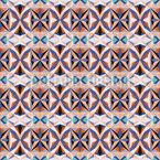 Crystal Stars Seamless Vector Pattern Design