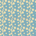 Bubble Rain Seamless Vector Pattern Design