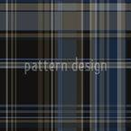 Dark Tartan Fabric Seamless Vector Pattern Design
