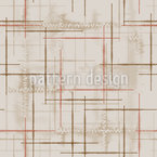 Patched And Sewn Seamless Vector Pattern Design
