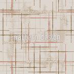 Remendado e Costurado Design de padrão vetorial sem costura