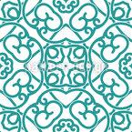 Tentation symétrique Motif Vectoriel Sans Couture