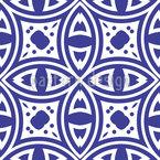 Observando Olhos Design de padrão vetorial sem costura