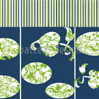 Paravent Floral Pattern Design