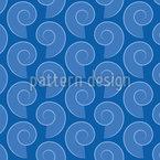 Shell de Caracol Design de padrão vetorial sem costura