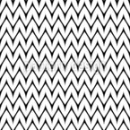 Rounded Chevron Seamless Vector Pattern Design