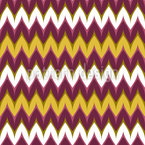 Rounded Zigzag Seamless Vector Pattern Design