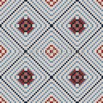 Pixel Tile Seamless Vector Pattern Design
