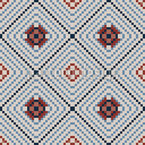 Pixelfliese Nahtloses Muster