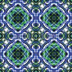 Im Garten Des Palastes Nahtloses Vektor Muster